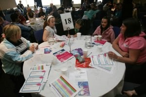 Participatory budgeting event in Newcastle