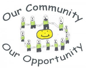 Logo designed by Jessica Whelan, year 5, Halton Lodge Primary School and the young people of the Grangeway Youth Club