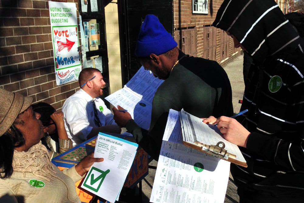 Promoting participation on the streets during the PBNYC 2014 programme
