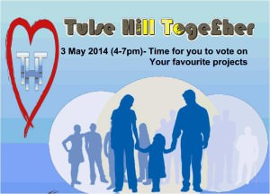 Tulse Hill Together Flyer