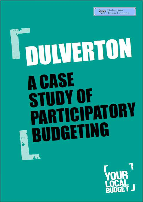 Dulverton our place report cover