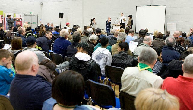 Manchester Participatory budgeting event 2014