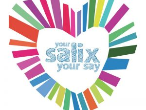 Your Salix Your Say logo