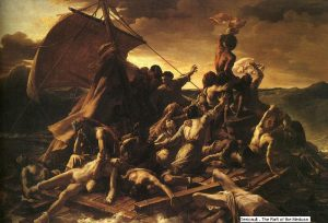 The Raft of the Medusa by Gericault...