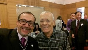 Davy Jones and Giovanni Allegretti at the International PB Conference. Oct 16 in Edinburgh
