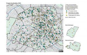 Projects Map Paris PB